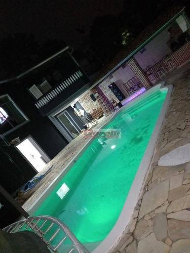 Chácara Com 2 Dormitórios À Venda, 1288 M² Por R$ 900.000,00 - Água Azul - Guarulhos/sp - Ch0102