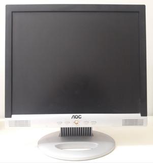 Monitor Aoc 17 Pulgadas - Con Parlantes Incorporados -