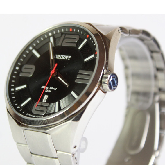Relógio Masculino Original Orient Cromado Aço Inox C/ Nota
