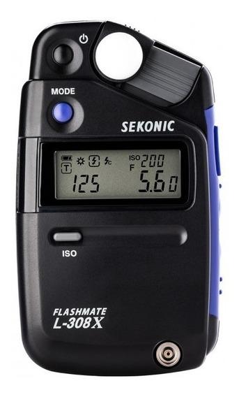 Fotometro Sekonic L-308x - Medidor De Luz Flashmate