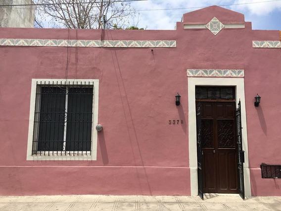Casa En Renta En Merida, En El Centro De La Ciudad, Cerca De Paseo De Montejo