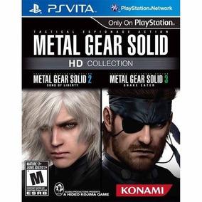 Psvita Metal Gear Solid Hd Collection Novo Lacrado
