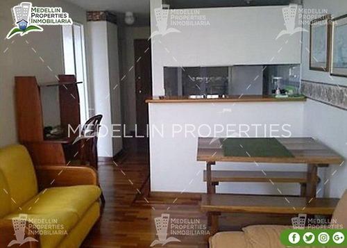 Apartamento Amoblado Medellin Por Mes  Cód: 4015