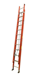 Escalera Tipo Ia Extension Dieléctrica 24 Peldaños / 7.4 Mts