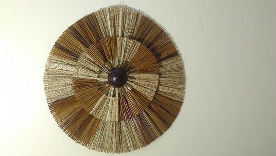 Quadros Mandala Decorativo De Parede Açaí 50x50