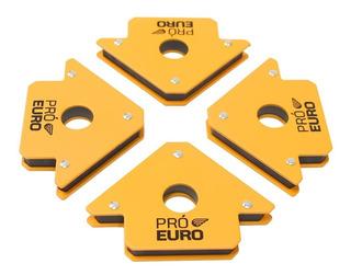 Kit 4 Esquadros Magnéticos 12kg - Pró Euro