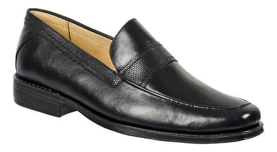 Sapato Social Masculino De Exportação Em Couro Edgar Oferta