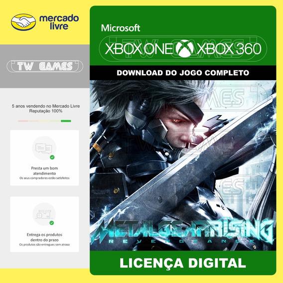 Metal Gear Rising Revengeance Retro Xbox One Xbox 360