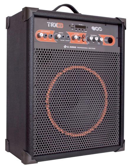 Caixa Amplificada Multiuso Usb Rádio Bluetooth Fm Ll Trx10