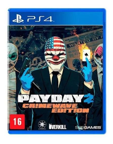 Payday 2 Crimewave - Ps4 Psn Original 1