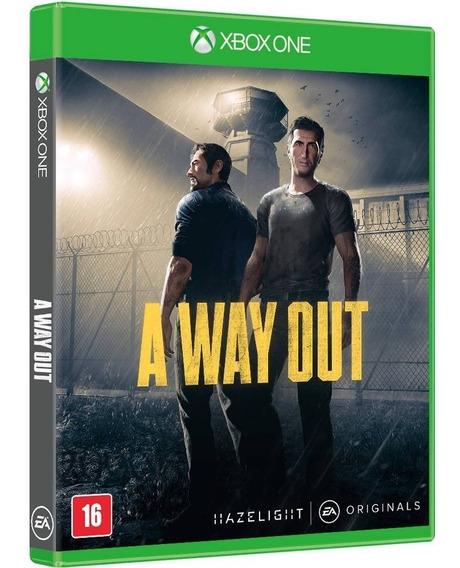 Jogo A Way Out (novo) Xbox One