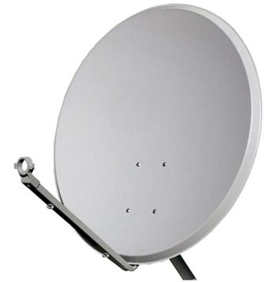 Kit 5 Antenas 60cm Ku C/ Lnb Duplo Universal