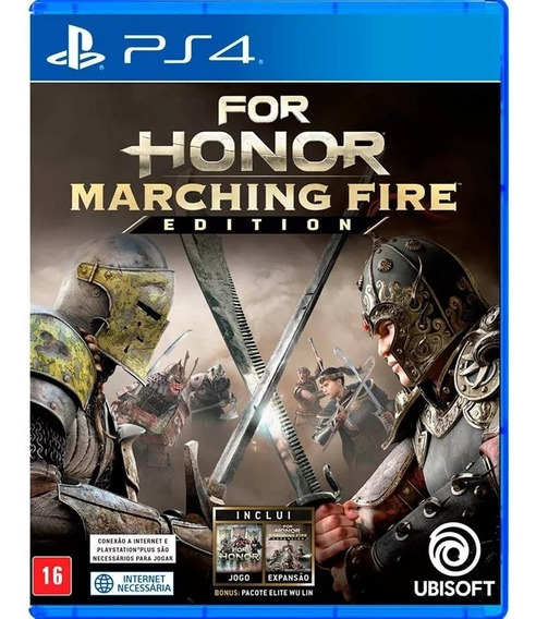 For Honor: Marching Fire Edition - Ps4 - Mídia Física