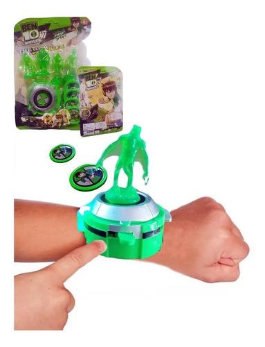 Ben 10 Reloj  Omnitrix  Juguete Juegos Didáctico Jugueteria