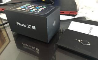 iPhone 3gs 32gb Completo De Tudo Na Caixa - Excelente Estado