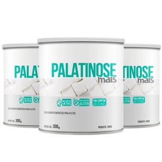 Palatinose Mais - 3x 300 Gramas - Clinic Mais