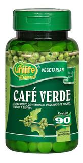 Café Verde 90 Capsulas 400mg Unilife