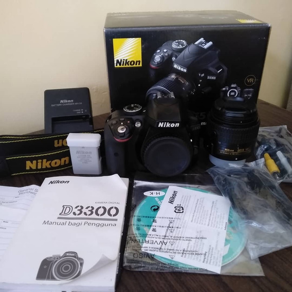 Nikon D3300 24.2 Mp With Nikkor 18-55mm F/3.5-5.6g Vr Ii