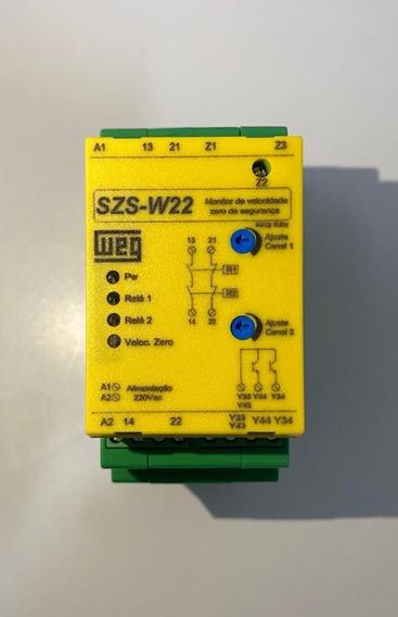 Rele Monitor De Velocidade Zero Szs-w/22 Weg