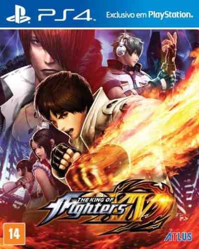 The King Of Fighters Xiv 14 Ps4 Mídia Física Novo Português