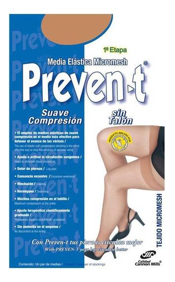 2 Pares Medias Preven-t Clásica Prevención Y Control Varices