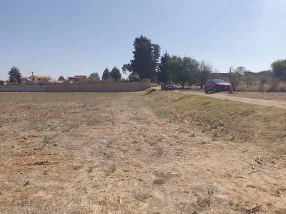 Terreno En Cholula