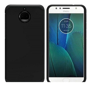 Funda Motorola Moto G5 S Plus Anti Golpes + Vidrio G5s Plus