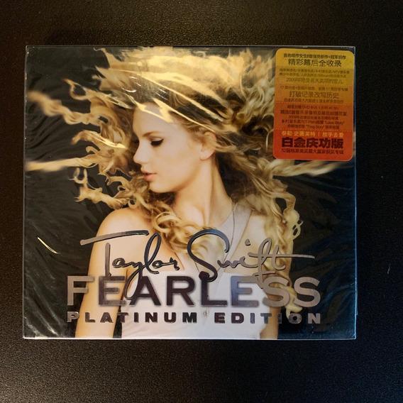 Box Chinês Taylor Swift Fearless Platinum Edition Cd + Dvd