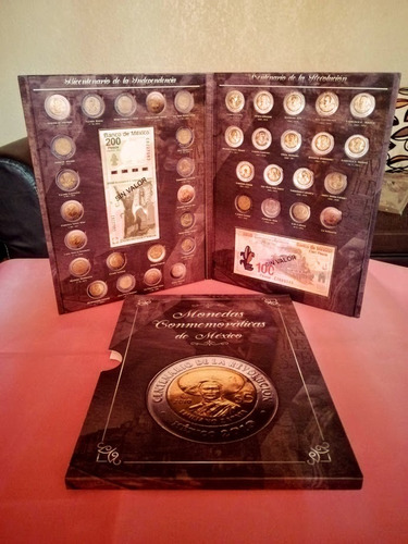 Imagen 1 de 10 de Album Para Monedas De $5 Bicentenario Y Centenario!!