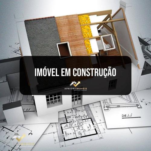 Cobertura Com 2 Dormitórios À Venda, 90 M² Por R$ 350.000,00 - Vila Pires - Santo André/sp - Co0070