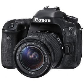 Câmera Canon Eos 80d 18-55mm Is Stm