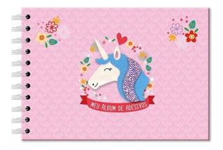Album Stickers Unicornio Esp 2277 Fina Ideia