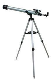 Telescópio Luneta Astronômico 675x Refrator 60mm Terrestre