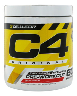 C4 Cellucor 60 Serv Pre Workout/pre Entreno Belgrano/la Boca
