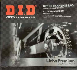 Kit Relação Original Did Yamaha Tenere Lander 250 Corrente
