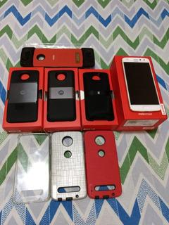 Smartphone Motorola Moto Z2 Play 200gb + 4 Moto Snaps +capas