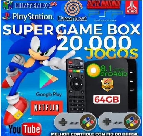 Video Game Retro Kim Box 2020