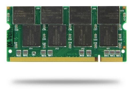 Memoria Ram Ddr1 1 Gb Para Laptop Bus 400 Compat 333 266 Mdj