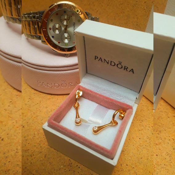 Brinco Pandora Love Pods Shine Novo Na Caixa!