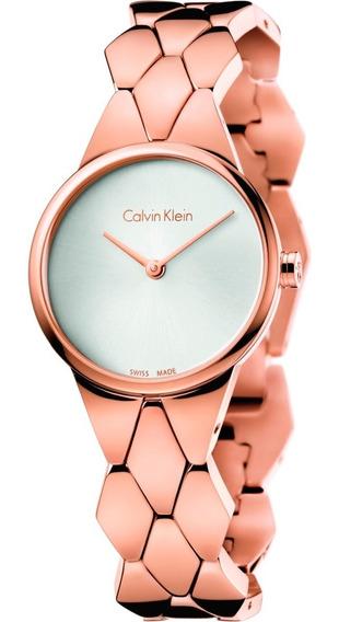 Relógio Calvin Klein - Snake - Dourado - K6e23646