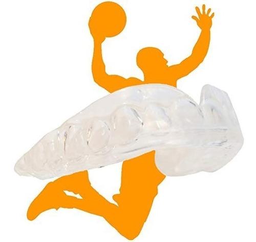Imagen 1 de 6 de Hoopstar Basketball Sport Mouth Guards - Paquete De 2 - Jueg