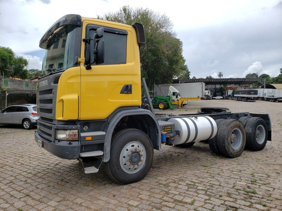 Scania 124 G 420 B 6x6 C/109.542 Km Financiamos!