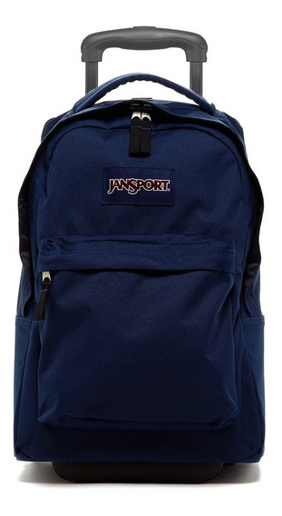 Mochila Jansport Con Carro Wheleed Superbreak Azul Maple