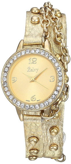 Zelvy Reloj Para Mujer Color Oro