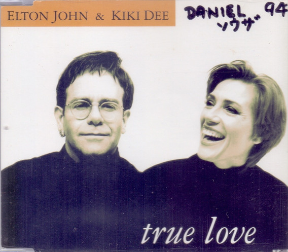 Elton John Kiki Dee 1993 True Love Cd Single Japão