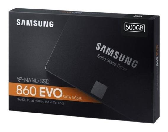 Hd Ssd 500gb Samsung 860 Evo Sata 3 6gb/s