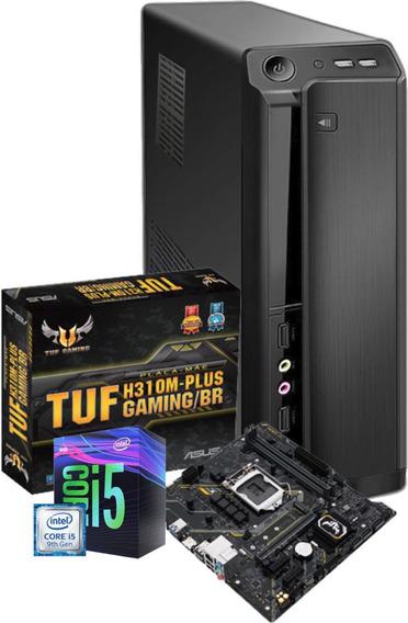 Pc Intel Core I5 9400 H310m Ddr4 2x 8gb Ssd 480gb C/nota