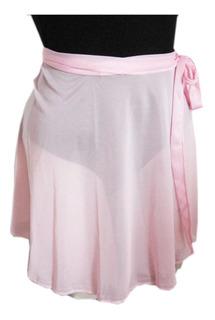 Pollerin Para Danza En Gasa T. 0/1 Color Negro-rosa-blanco