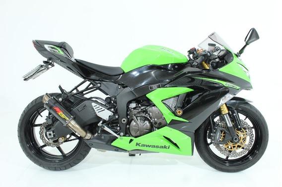 Kawasaki Ninja Zx 6r Abs 2013 Verde