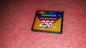 Compact Flash 256mb Transcend Compacflash